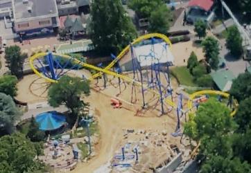 Dutch Wonderland Roller Coaster